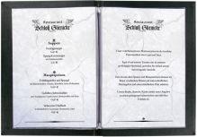 Cartes de menus