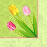 Serviettes à motifs Pâques