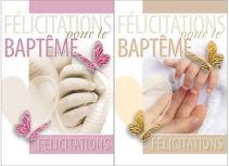 Cartes de baptême