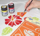 Kit peintures pour soie