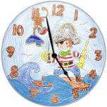 Horloges à colorier