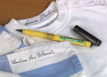 Marqueurs textiles