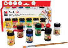 Kit peintures pour textiles