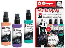Kit peintures textiles en spray