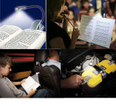 Présentoirs - Lampes de lecture