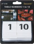 Numéros pour table