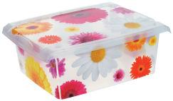 Boîtes plastique - décorées