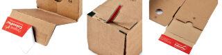 ColomPac Boîte d'expédition, pour format A2, couleur, marron