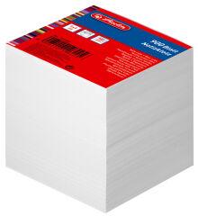 herlitz Bloc-notes cube, 90 x 90 mm, 80 g/m2, blanc