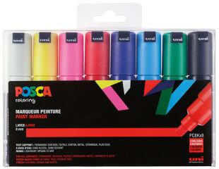 Étui de 8 marqueurs à pigment POSCA (PC-8K)