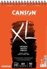 CANSON Bloc à croquis et études 'XL', A2, 90 g/m2