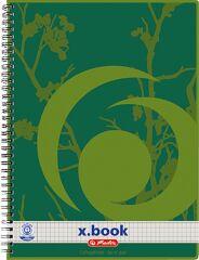Bloc-notes Recycling A4 - 80 feuilles - Petits carreaux