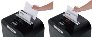 Rexel Destructeur de documents Mercury RDSM750, particules
