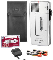 PHILIPS Dictaphone Pocket Memo Professional LFH0488