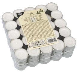 PAPSTAR Bougies chauffe-plat, diamètre: 38 mm, blanc