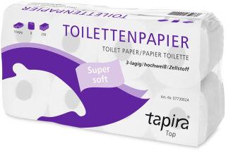 Tapira Papier toilette, 3 couches, paquet géant, extra blanc