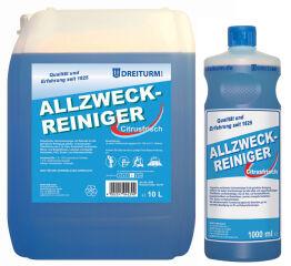 DREITURM Nettoyant multi-usages avec ammoniac, 10 litres,