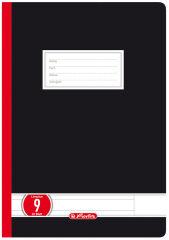 herlitz Cahier d'école supérieure x.book, A4, ligné