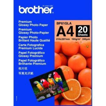 Papier photo brillant haute qualité,  format A4