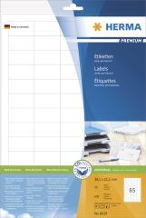 HERMA Etiquette universelle PREMIUM, 48,3 x 33,8 mm, blanc