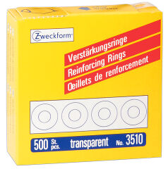 AVERY Zweckform Oeillets de renfort 13 mm, transparent