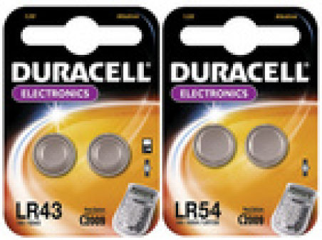 "Piles bouton alcalines  ""Electronics"""