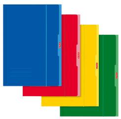 herlitz Chemise de rangement, format A4, couleurs assorties