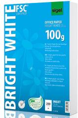 sigel papier jet d'encre 'Bright White', format A4, 100 g/m2