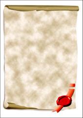 sigel Papier design, A4, 185 g/m2, motif 'Parchemin'