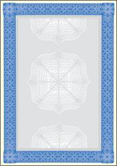 sigel Papier à motif, A4, 185 g, bleu