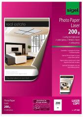sigel Papier photo, A3, 135 g/m2, glossy recto-verso
