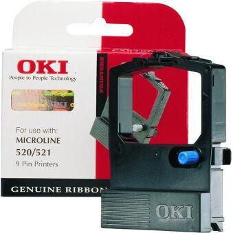 OKI Ruban pour OKI ML 520/521, nylon, noir
