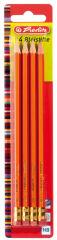 herlitz Crayon Skizzo, hexagonal, degré de dureté HB