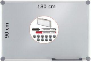 Tableau Argent Laqué Magnétique 180 x 90 cm - MAUL