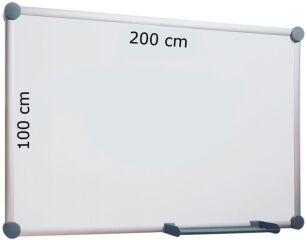 Tableau Blanc 2000 Emaillé Magnétique 200 cm x 100 cm -  Maul