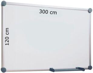 Tableau Blanc 2000 Emaillé Magnétique 300 cm x 120 cm -  Maul