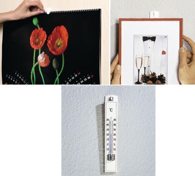 tesa powerstrips crochet adh sif pour cadre blanc achat vente tesa 8756187. Black Bedroom Furniture Sets. Home Design Ideas