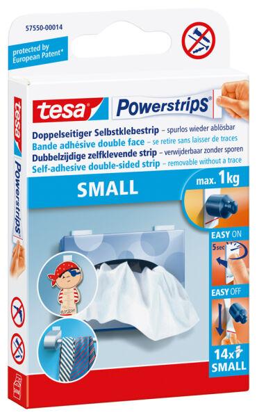 tesa powerstrips small fixe des objets jusqu 39 1 0 kg achat vente tesa 8757550. Black Bedroom Furniture Sets. Home Design Ideas
