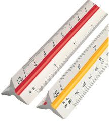 Règle de réduction triangulaire 30 cm kutch - ROTRING