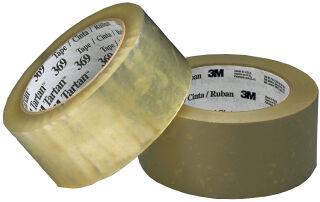 Tartan Ruban adhésif d'emballage 369, 50 mm x 66 m, marron