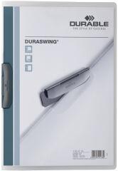 DURABLE Chemise à clip DURASWING, A4, transparent