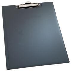 DURABLE Porte-bloc, A5, noir, en PVC souple