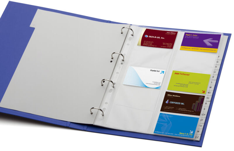 durable visifix classeur anneaux pour cartes de visite a4 achat vente durable 9238807. Black Bedroom Furniture Sets. Home Design Ideas