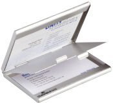 DURABLE Etui pour cartes de visite BUSINESS CARD BOX DUO