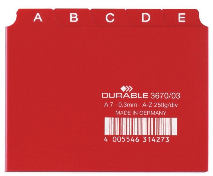Durable r pertoire a z en pp format a7 l 39 italienne for Buro allemand