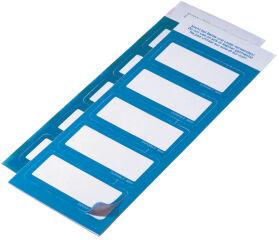 DURABLE Badge adhésif, en textile, bleu clair