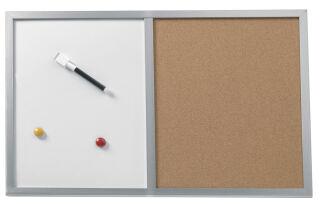 Tableau mixte en liège , 60 x 40 cm - Herlitz