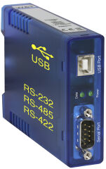 W&T Interface Convertisseur port USB - RS232/RS422/RS485