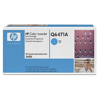 hp Toner pour hp Color LaserJet 3600, cyan