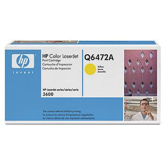 hp Toner pour hp Color LaserJet 3600, jaune